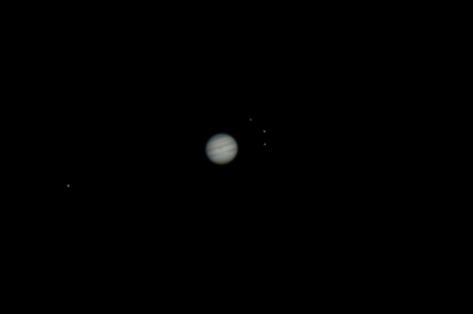 Jupiter the four Galilean Moons