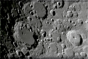 Tycho crater (Lower Right)