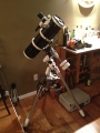 Out with the old and in with the new! My new (and still current) Telescope!