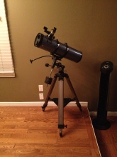 My first telescope, it was love at first sight.