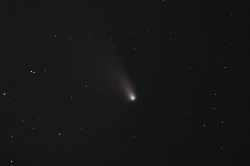 Comet C/2011 L4 (PANSTARRS) - Angle corrected to match what was actually observed