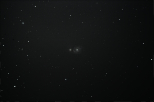 My first successfully photographed galaxy