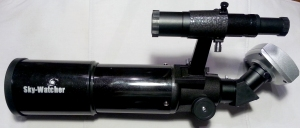 80mm Refractor  + SynGuider Camera