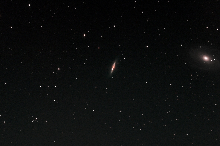 M82 with M81